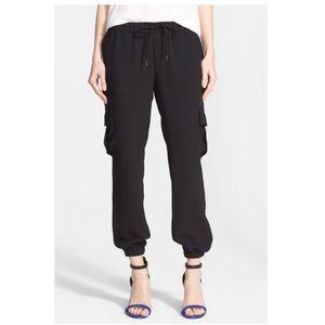 Joie Markell joggers cargo pants black M